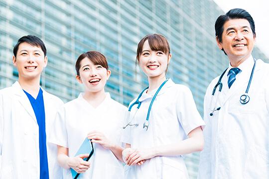 原土井病院グループ、本校後援会施設からのサポート